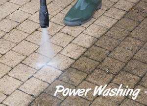 power-washing